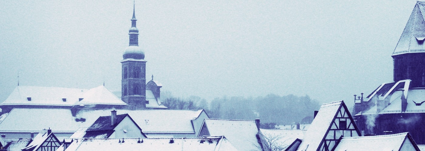 Winterbild Kirche St. Stephan
