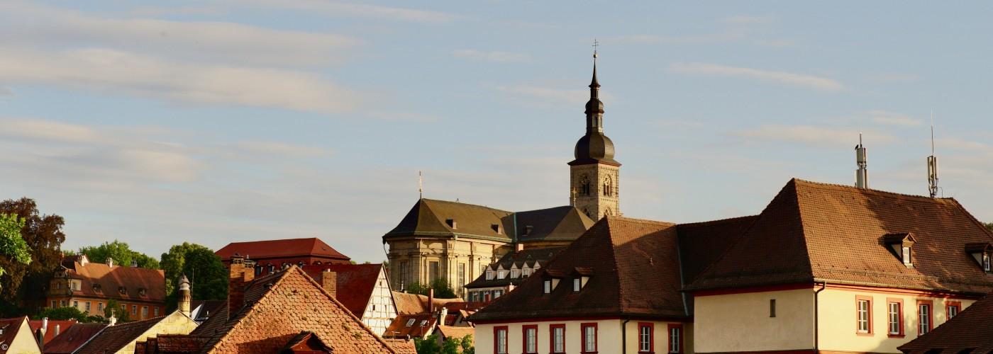 St. Stephan über Bamberg