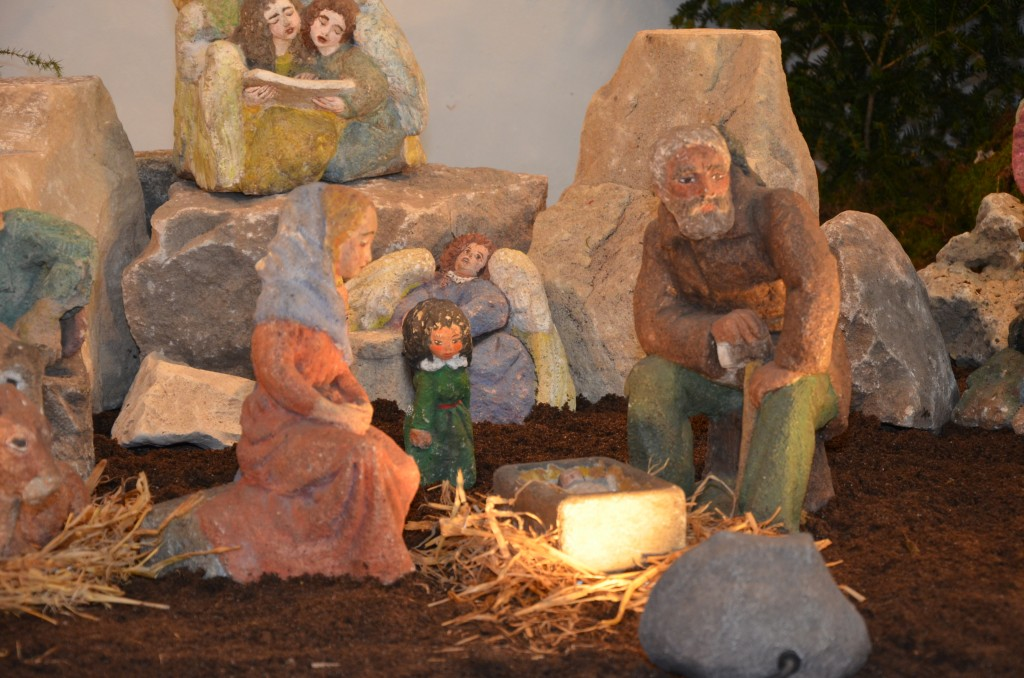 Die Weihnachtsszene